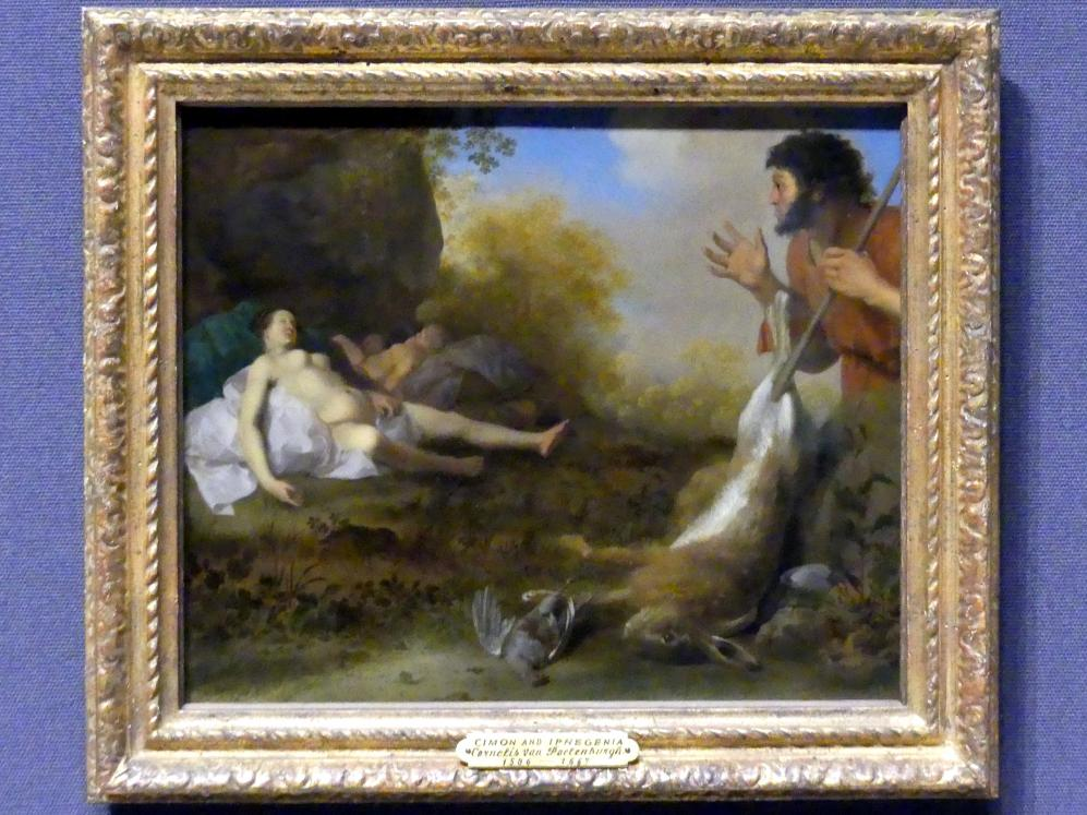 Cornelis van Poelenburgh: Cimon und Iphigenie, um 1630 - 1640