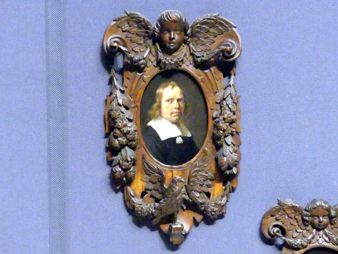 Jan de Bray: Porträt eines Mannes, 1663