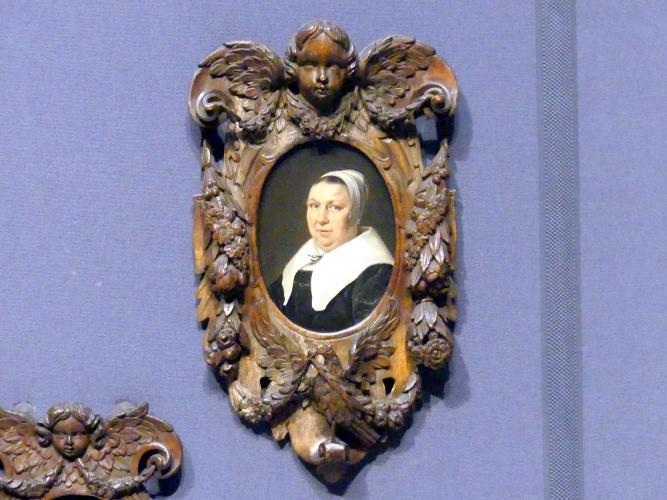 Jan de Bray: Porträt einer Frau, 1663