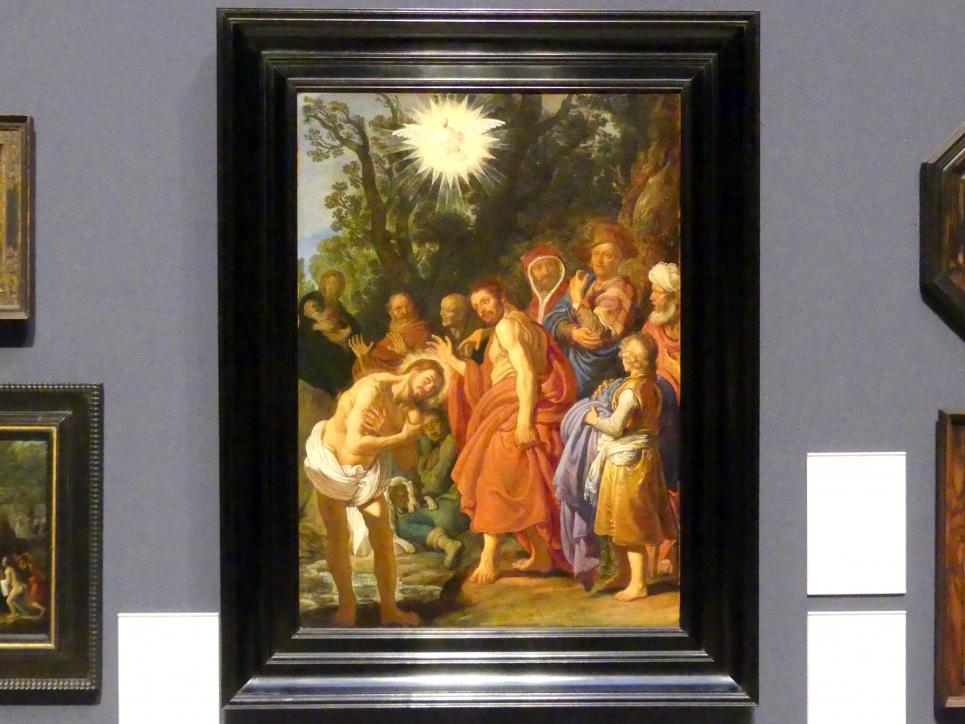 Pieter Lastman: Taufe Christi, 1629