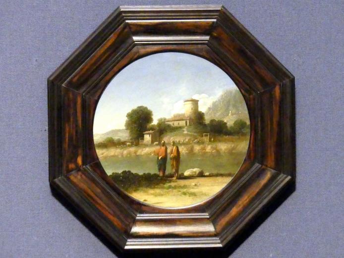 Gottfried (Goffredo) Wals: Christus und Apostel Paulus in einer Landschaft, um 1630 - 1638