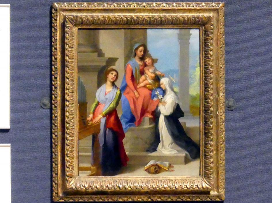 Francesco Vanni: Maria mit Kind und den hll. Katharina von Siena und Cäcilia, um 1600