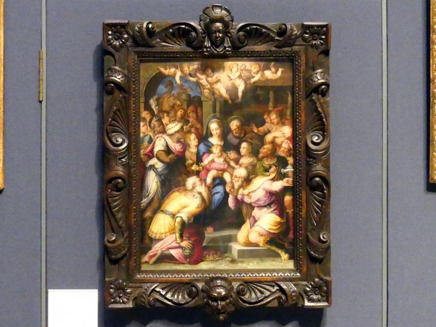 Giorgio Vasari: Anbetung der Könige, um 1567