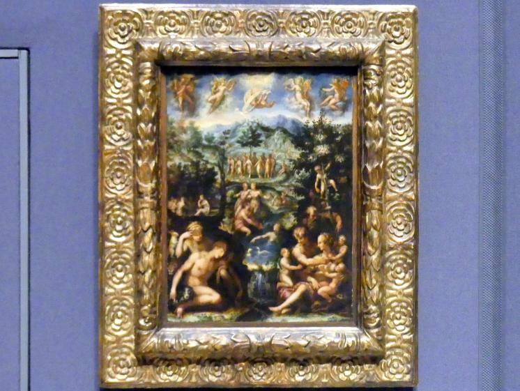 Francesco Morandini (Poppi): Das Goldene Zeitalter, um 1567 - 1568