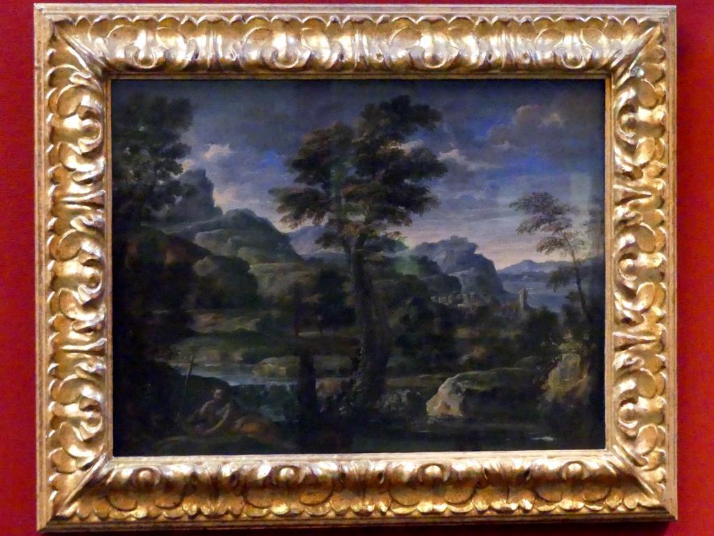 Pietro da Cortona: Landschaft mit der hl. Maria Magdalena als Büßerin, um 1625 - 1630