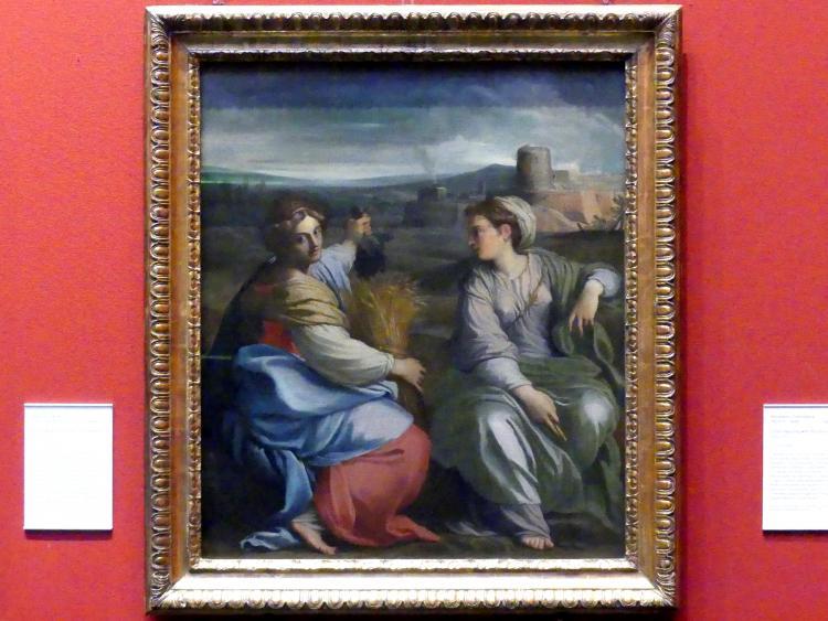 Agostino Carracci: Allegorie des Überflusses und des Friedens, um 1601 - 1602