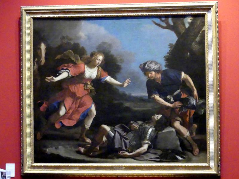 Giovanni Francesco Barbieri (Il Guercino): Erminia und der verwundete Tancred, 1650 - 1652
