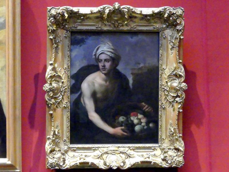 Bartolomé Esteban Murillo: Junger Mann mit Früchtekorb (Allegorie des Sommers), um 1660 - 1665
