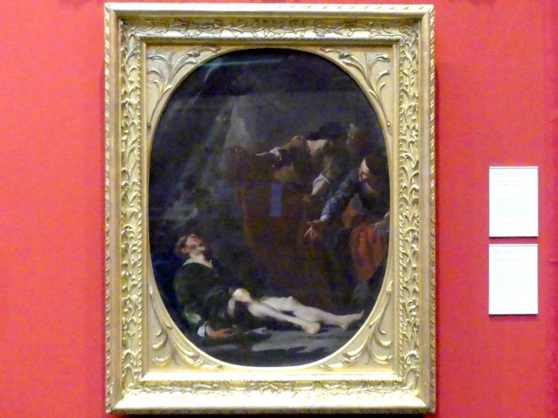 Bernardo Cavallino: Die Trunkenheit Noahs, um 1640 - 1645