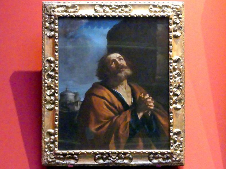 Giovanni Francesco Barbieri (Il Guercino): Der reuige Petrus, 1639