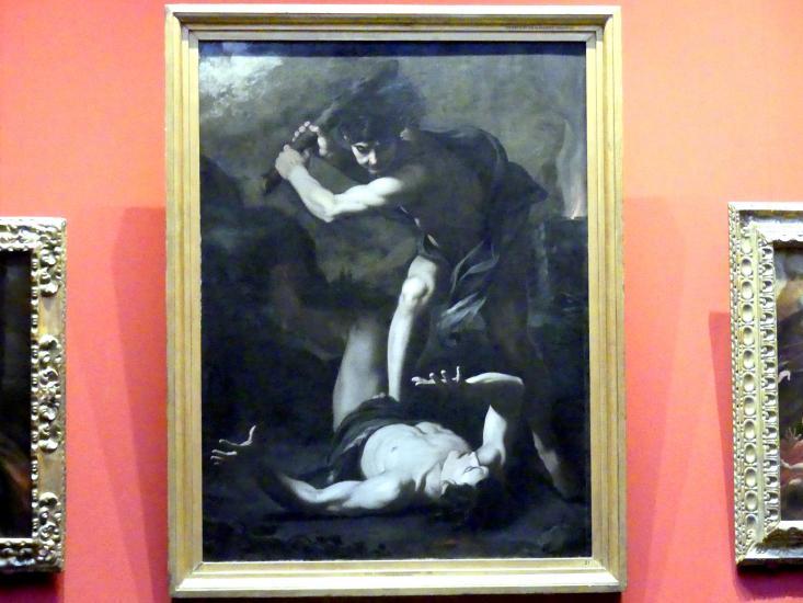 Pietro Novelli (Il Monrealese): Kain erschlägt Abel, um 1630 - 1635