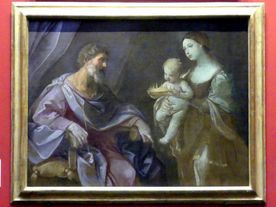 Guido Reni: Moseknabe mit der Krone des Pharao, um 1638 - 1640