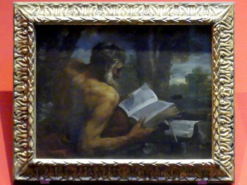 Pier Francesco Mola (Nachfolger): Heiliger Hieronymus, um 1650 - 1675