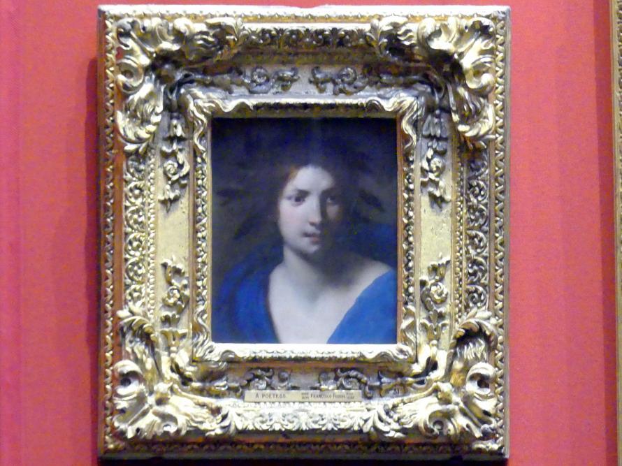 Francesco Furini: Personifikation der Dichtung, um 1640