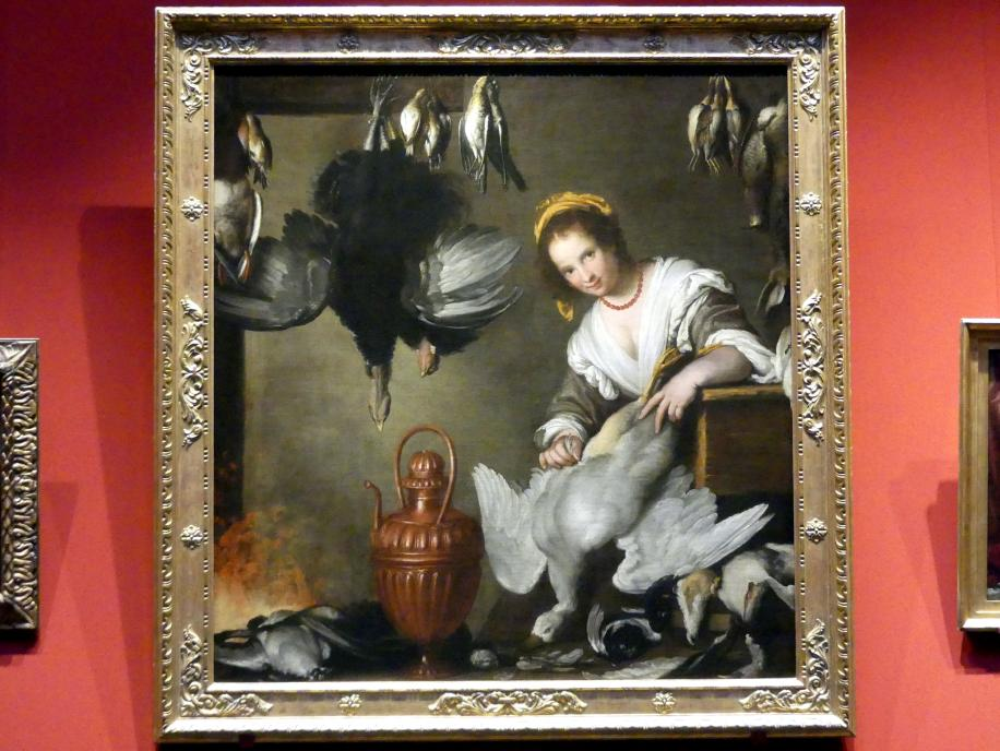 Bernardo Strozzi: Die Köchin, um 1630 - 1640