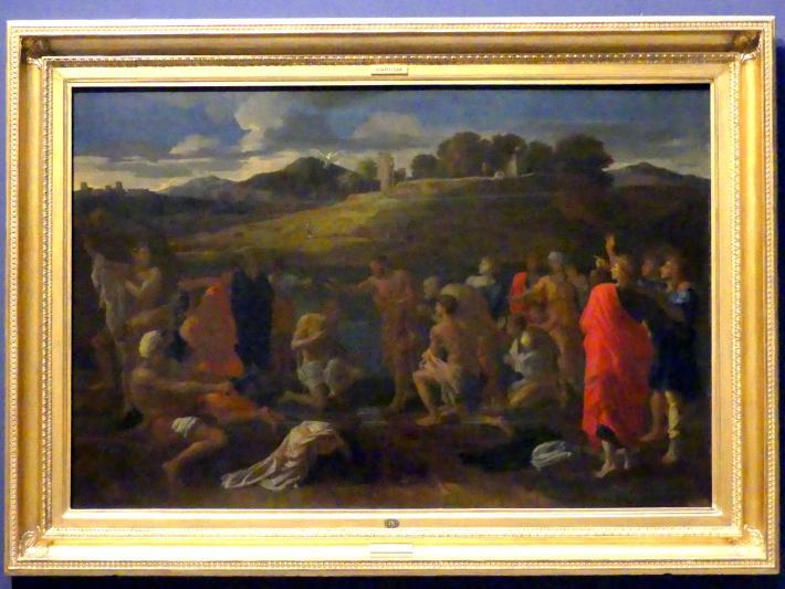 Nicolas Poussin: Das Sakrament der Taufe, 1646