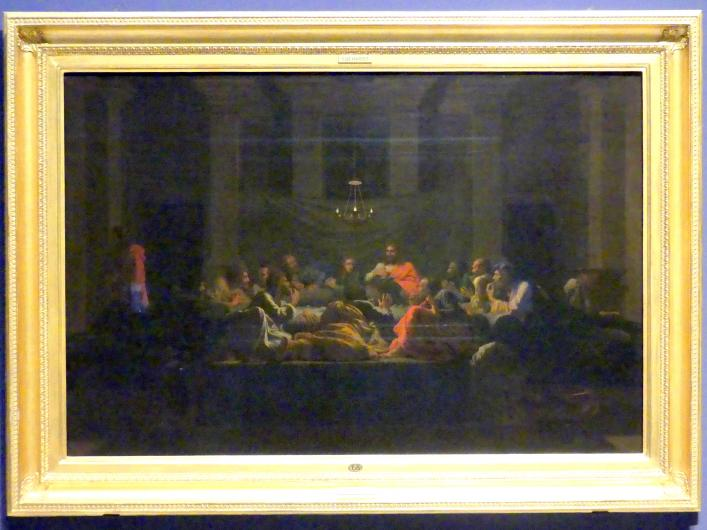 Nicolas Poussin: Das Sakrament der Heiligen Eucharistie, 1647
