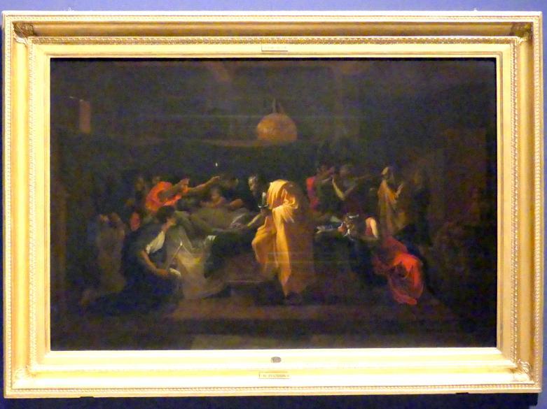 Nicolas Poussin: Das Sakrament der Krankensalbung, 1644