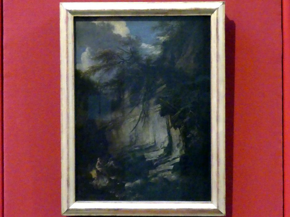 Salvator Rosa: Landschaft mit den hll. Antonius Abbas und Paulus dem Eremit, um 1660 - 1663