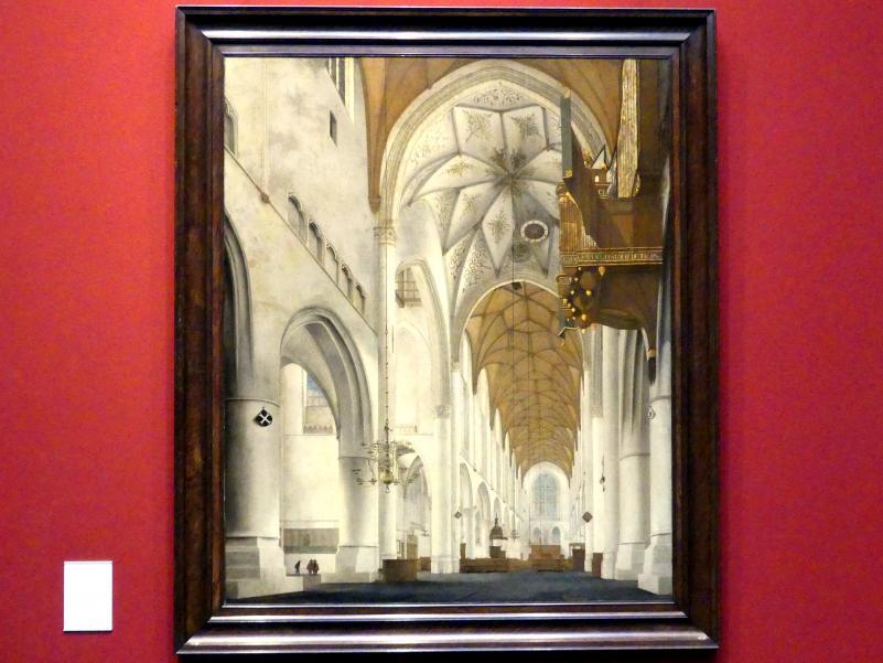 Pieter Jansz. Saenredam: Interieur der St.-Bavo-Kirche in Haarlem (Grote of St.-Bavokerk), 1668