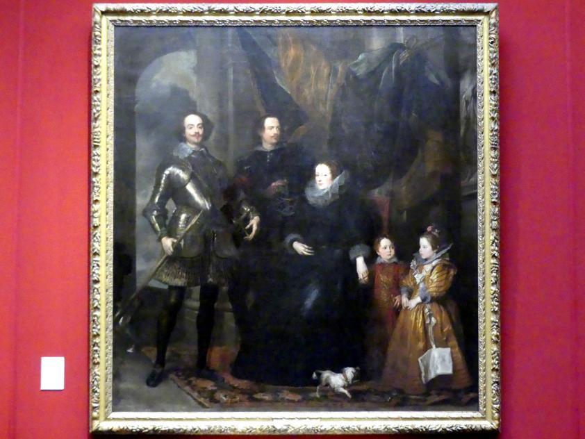 Anthonis (Anton) van Dyck: Porträt der Familie Lomellini, um 1625 - 1627