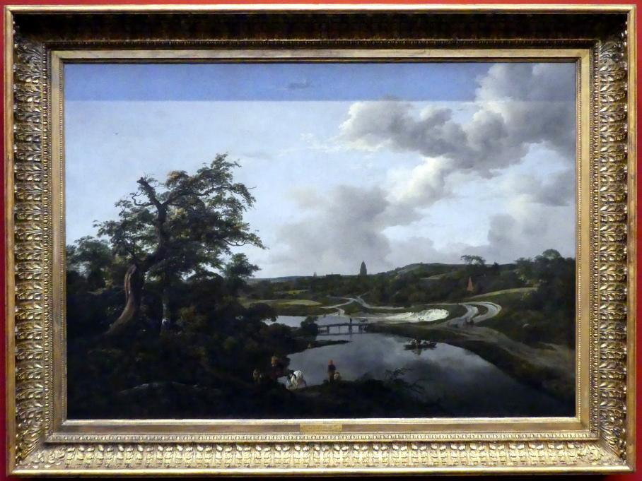 Jacob van Ruisdael: Flussufer, 1649