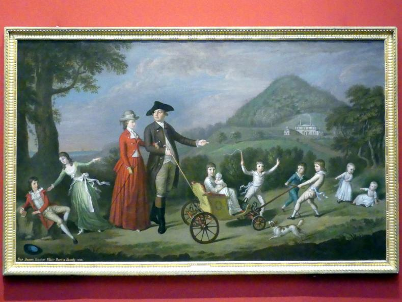 David Allan: Die Familie Hunter Blair, 1785