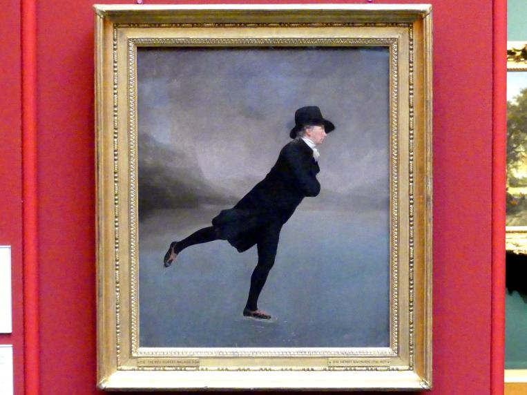 Henry Raeburn: Hochwürden Robert Walker (1755-1808) beim Schlittschuhlaufen, 1795