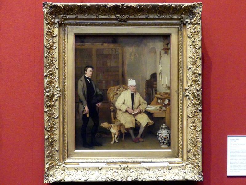 David Wilkie: Der Vorstellungsbrief, 1813