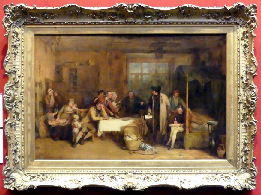 David Wilkie: Eintreibung der Mietschuld, 1815
