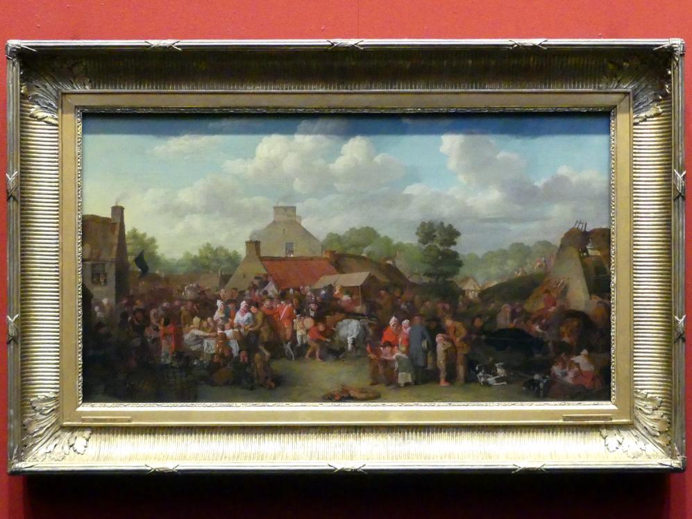David Wilkie: Pitlessie Fair, 1804