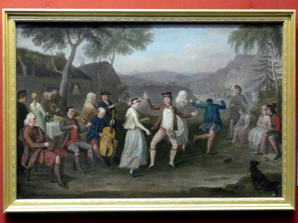 David Allan: Eine Gebirgshochzeit am Blair Atholl, 1780