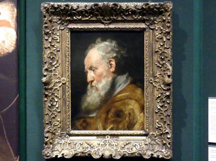 Peter Paul Rubens: Studienkopf (Hl. Ambrosius), um 1616 - 1617