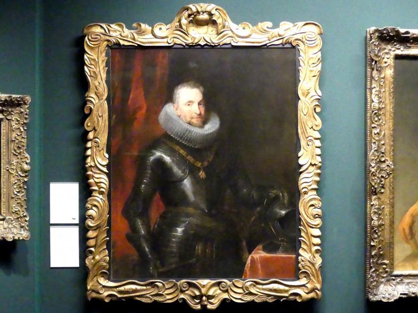 Anthonis (Anton) van Dyck: Bildnis des Marchese Ambrogio Spinola (1569-1630), 1627 - 1628