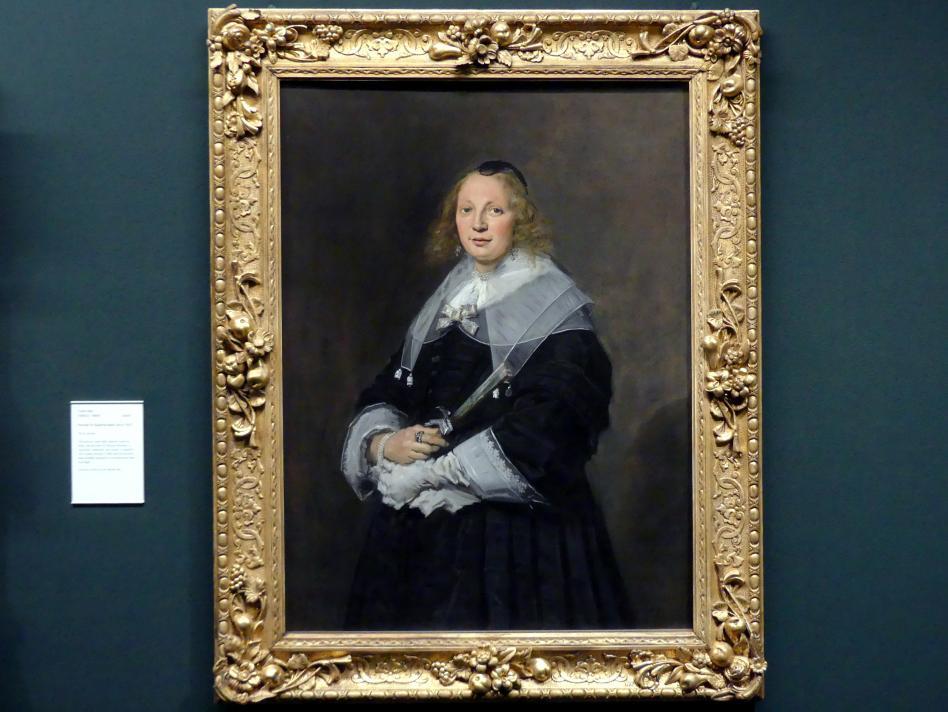 Frans Hals: Bildnis der Susanna Bailly, um 1645