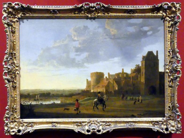 Aelbert Cuyp: Landschaft mit Blick auf Valkhof, Nijmegen, 1655 - 1660