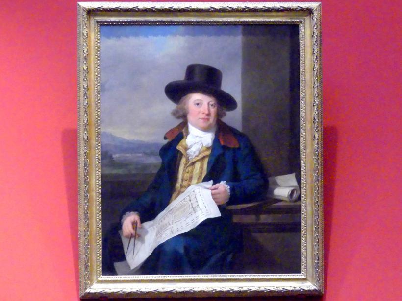 Angelika Kauffmann: Porträt des Michael Novosielski (1750-1795), 1791 - 1792