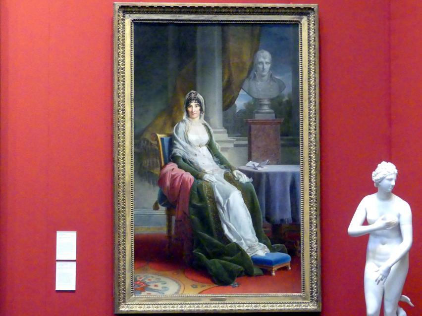 François Gérard: Marie-Laetitia Bonaparte, 'Madame Mere', um 1800 - 1803
