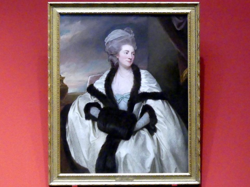 George Romney: Mrs. Wilbraham Bootle (gestorben 1813), 1781