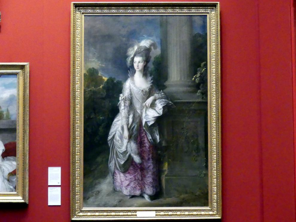 Thomas Gainsborough: Ehrenwerte Mrs. Graham (1757-1792), 1775 - 1777