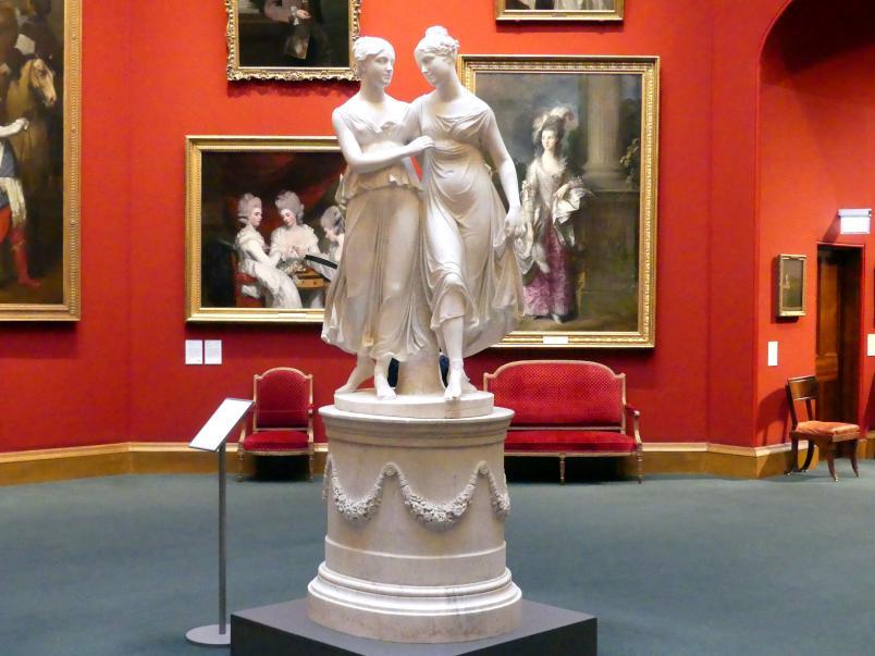 Lorenzo Bartolini: Die Campbell Schwestern, 1821 - 1822