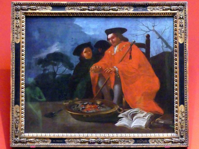 Francisco de Goya (Francisco José de Goya y Lucientes): Der Arzt, 1779