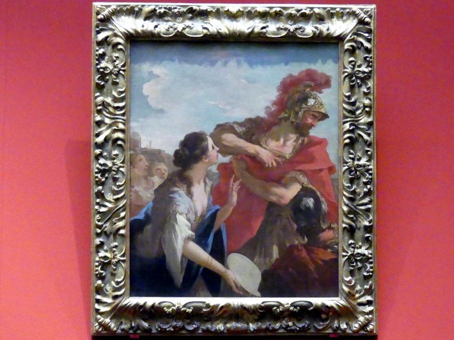 Giovanni Antonio Pellegrini: Jiftach und seine Tochter, um 1708 - 1713