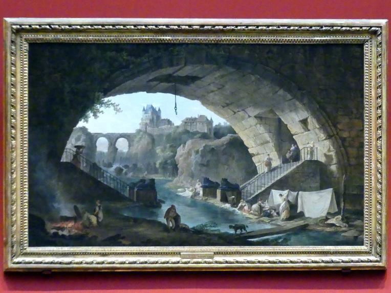 Hubert Robert: Landschaft, um 1760