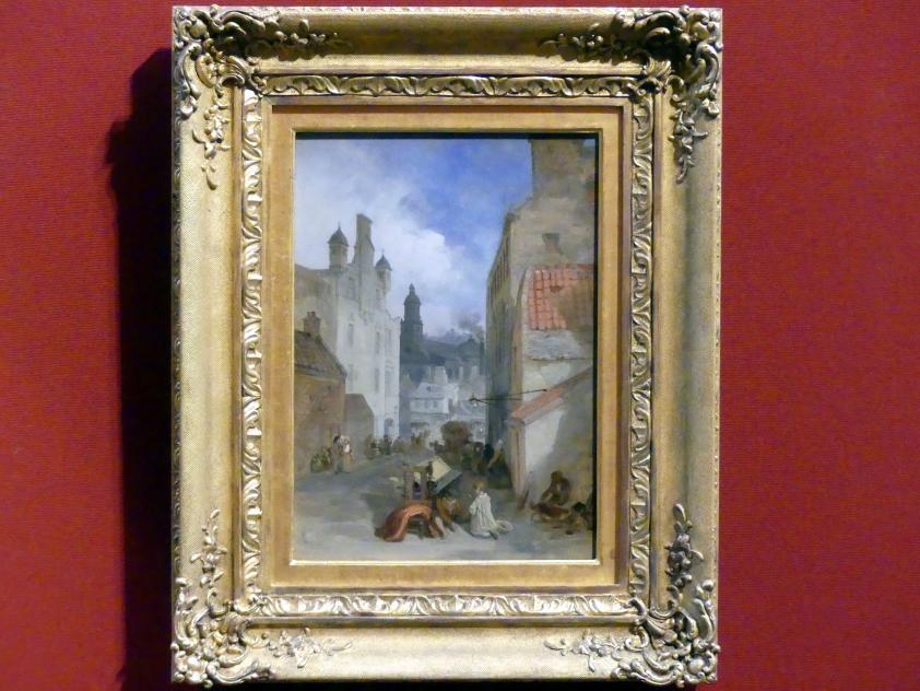 David Roberts: Blick auf die St.-Patrick-Kirche in Edinburgh, um 1840