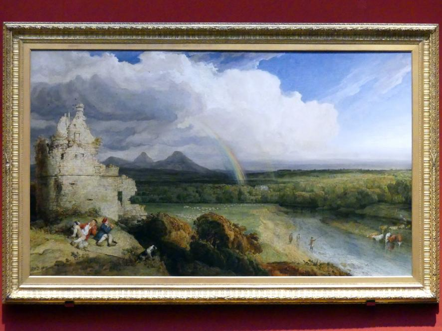 James Ward: Die Eildon Hills und der Fluss Tweed, 1807