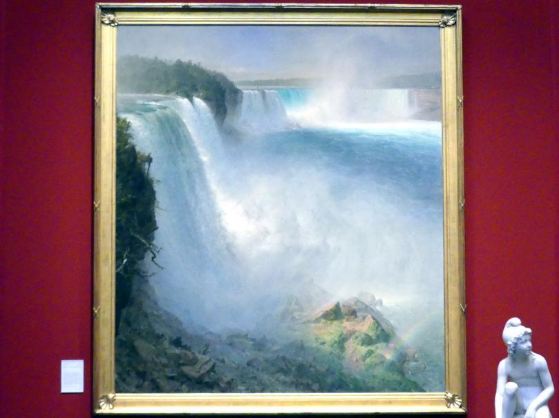 Frederic Edwin Church: Die Niagarafälle von der US-amerikanischen Seite, 1867