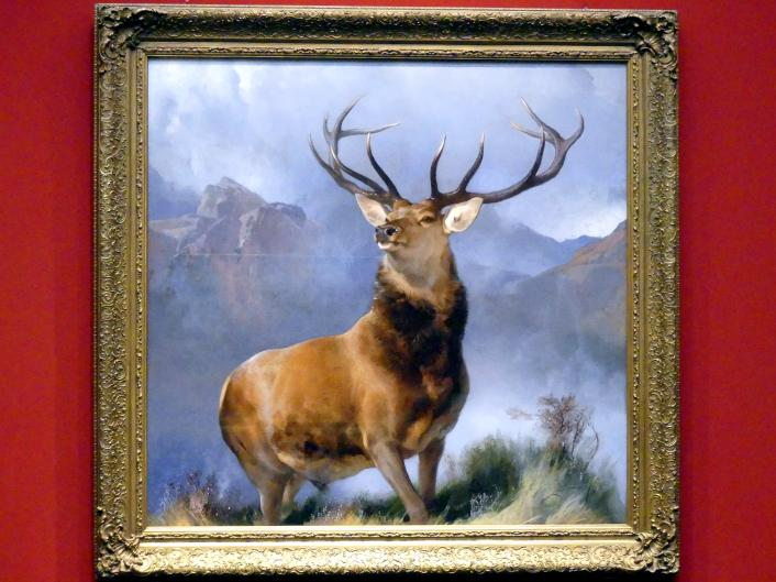 Edwin Landseer: Monarch of the Glen, um 1851