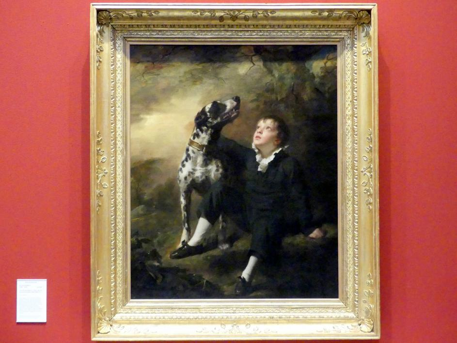 Henry Raeburn: John Stuart Hepburn Forbes, der spätere 8. Baronet von Pitsligo (1804-1866), 1812