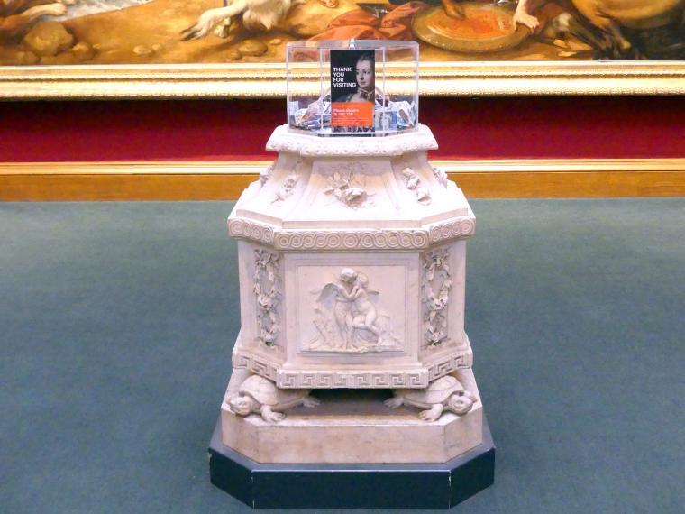 Joseph Wilton: Achtseitige Plinthe für eine Statue, Undatiert